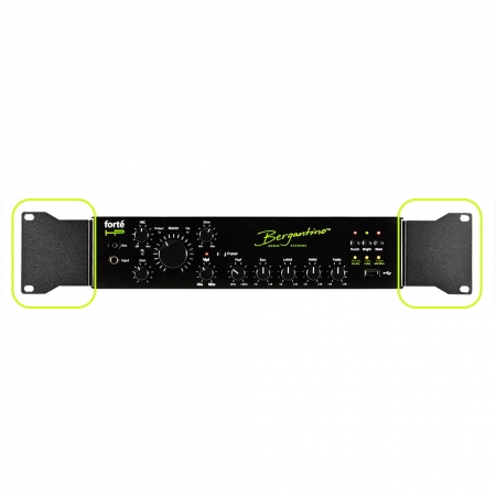 Bergantino forteHP Bass Amplifier Rack Kit