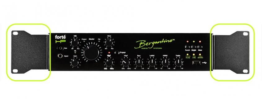 Bergantino forteHP Bass Amplifier Rack Kit