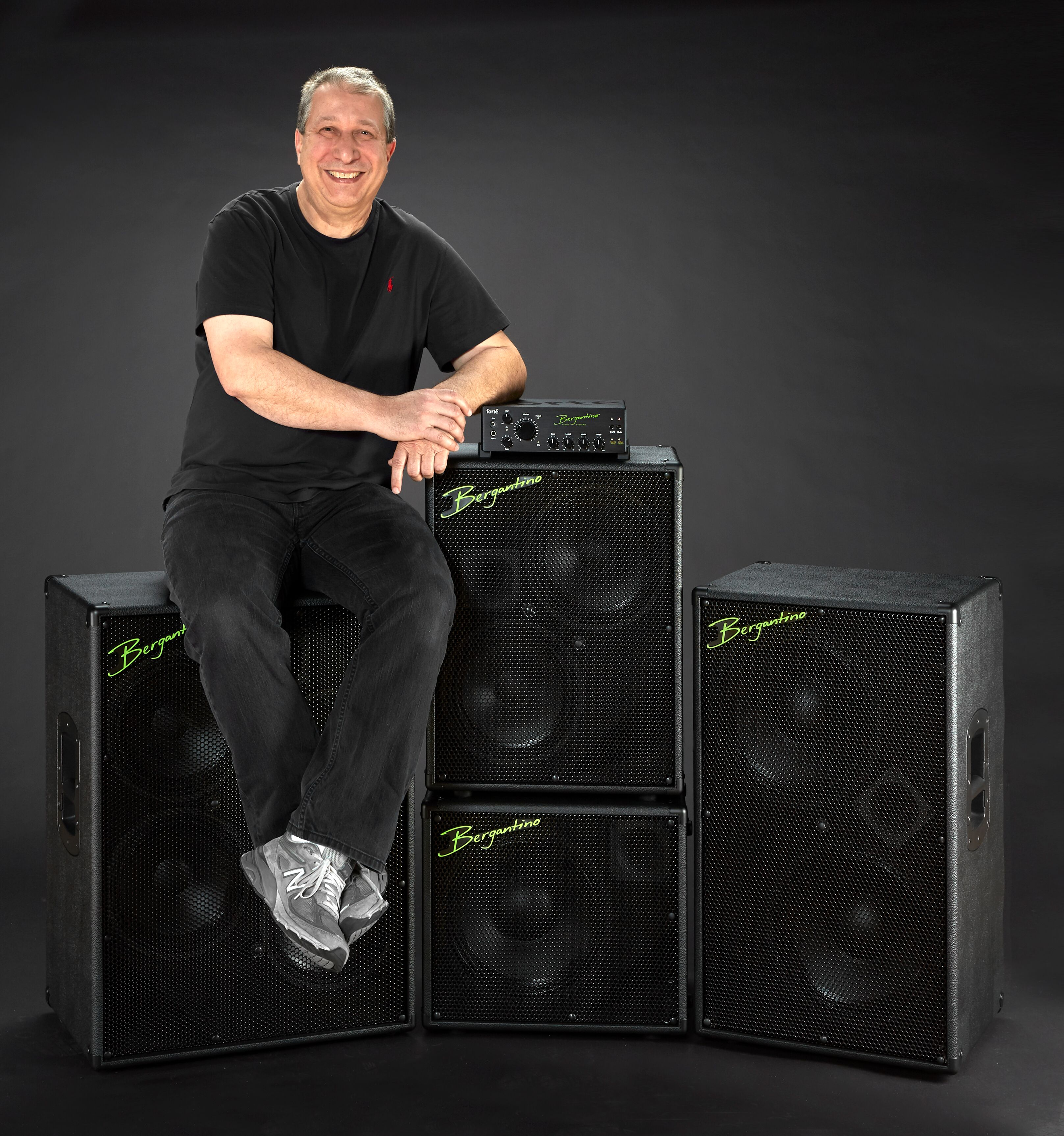 Jim Bergantino founder & audio design pioneer interview Bass
